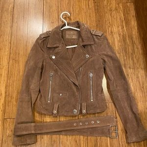 Blank NYC genuine leather jacket